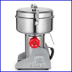 1000g High Speed Electric Grain Grinder Cereal Mill Flour Powder Machine 110V