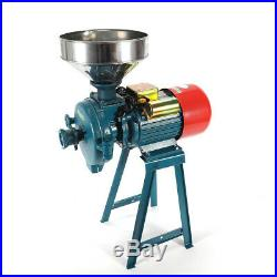 110V/1500W Grinder Machine for Grinding Corn, Wheat etc + Stainless Steel Funnel