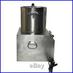 17L Stainless Steel Electric Commercial Food Processor Chopper Grinder Dicer 110
