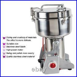 1Kg Stainless Steel Grains Mill Major Grinding Machine Grinder Food Pulverizer