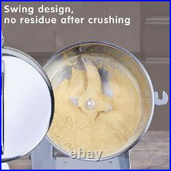 2000g Electric Grain Herb Grinder Cereal Powder Flour Mill Grinding Machine USA