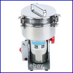 2000g Electric Herb Grain Spice Grinder Cereal Mill Grinder Flour Powder Machine