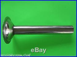 #22 9 pc Set Meat Grinder plate knife tubes Weston & Cabelas 1 HP #08-2201-W