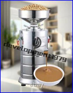 220V 15kg/h Commercial Peanut Butter Machine Sesame Grinding Grinder Machine