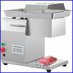 250Kg/Hour Stainless Steel Meat Cutting Machine Restaurant Beef Cutter Slicer