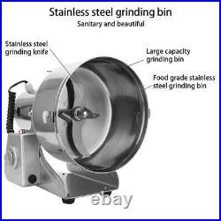 2Kg Electric Grain Corns Flour Spices Cereal Dry Food Grinder Mill Grind Machine
