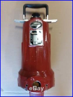 3 Phase Grinder Pump, LIBERTY mod# LSG203M, 2 HP, 208-230 V Omnivore Grinders