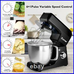 3 in 1 Multi-functional 6 Speed Stand Mixer Meat Grinder Blender Sausage Stuffer