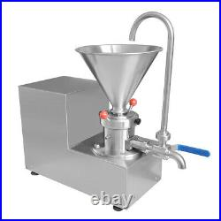 30-500kg/h Colloid Mill Grinder Commercial Peanut Butter Milling Maker