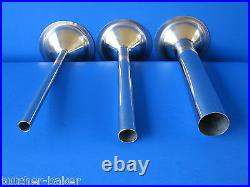 #32 9 pc Meat Grinder plate knife & Sausage stuffer tube for Weston 08-3201