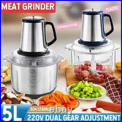 5L Stainless steel meat grinder Food processing machine