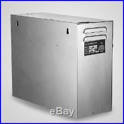 6KW Steam Generator Sauna Steamer for Home SPA Shower Bath ST-135m Controller
