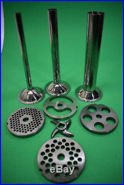 8 pc size #22 Meat Grinder Mincer parts for Hobart 4222 8422 4822 Weston #22
