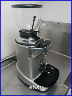 Adjustable Stainless and black body Caedo Coffee Grinder, very lightly used