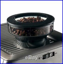 Ariete Metal Espresso Machine with Grinder, Coffee Maker, 1600W