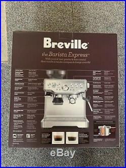 BRAND NEW Breville BES870XL Barista Express Automatic Espresso Machine Grinder