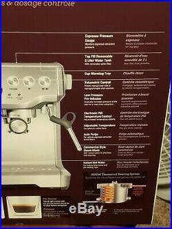 BRAND NEW SEALED Breville Barista Express Espresso Machine with Grinder BES870XL