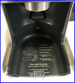 BREVILLE BCG800XL Smart Coffee Bean BURR GRINDER Stainless Steel Tested WORKS