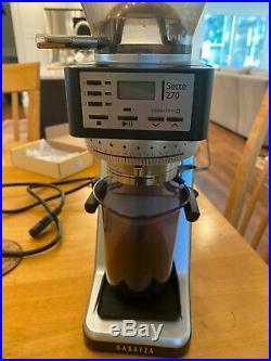 Baratza Sette 270 Espresso Coffee Grinder Great Condition