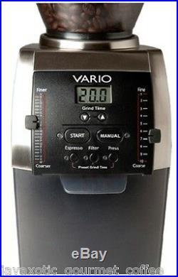Baratza Vario 886 Burr Espresso Coffee Semi Pro Grinder New Model Free Coffee
