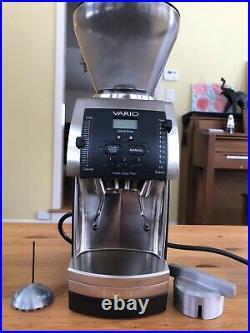 Baratza Vario 886 Ceramic Conical Burr Coffee Grinder Great Condition