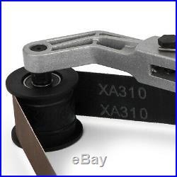 Belt Sander Pipe Tube Polisher Grinder for Stainless Steel Aluminum 800W 6 Speed