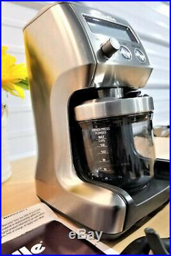 Breville BCG820BSSXL Smart Coffee Grinder Pro 12Cup BEAN HOPPER NOT INCLUDED