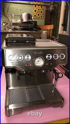 Breville BES860XL, Barista Express Espresso Machine withGrinder, witho accessories