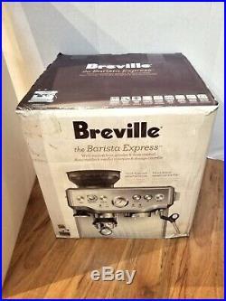Breville BES870XL Barista Express Espresso Machine withGrinder and Accessories