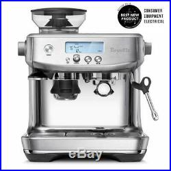 Breville BES878BSS1BUS1 the Barista Pro Espresso Machine With Grinder 110 Volts