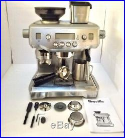 Breville BES980XL The Oracle Espresso Barista Machine with Grinder and Accessories
