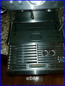 Breville Barista Express BES870XL Espresso Machine dual boiler grinder stainless