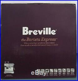 Breville Barista Express BES870XL Espresso Machine w Integrated Grinder Stainles
