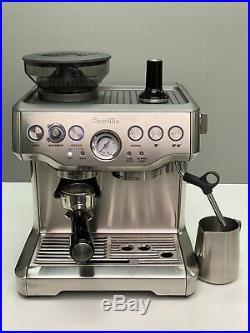 Breville The Barista Express BES870XL Espresso Machine Maker With Built In Grinder