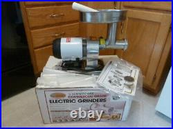 Cabela's 1/2 HP Commercial Grade Electric Meat Grinder w sausage stuffing attach