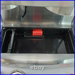 Calphalon BVCLECMPBM1 Temp iQ Espresso Machine with Grinder Steam Wand Free S/H