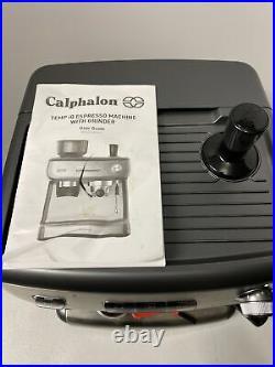 Calphalon BVCLECMPBM1 Temp iQ Espresso Machine with Grinder and Steam Wand2