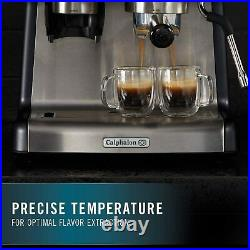 Calphalon Temp IQ Espresso Machine With Grinder And Steam Wand, Stainless