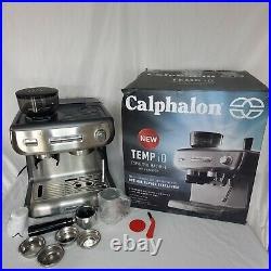 Calphalon Temp IQ Espresso Machine WithGrinder&Steam Wand (BVCLECMPBM1)