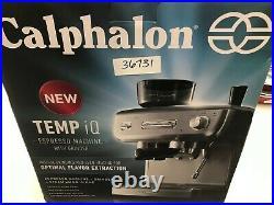 Calphalon Temp IQ Espresso Machine with Grinder & Steam Wand