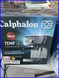 Calphalon Temp IQ Espresso Machine with Grinder & Steam Wand (BVCLECMPBM1)