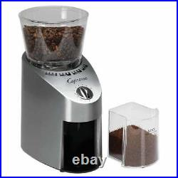 Capresso 565.05 Infinity Stainless Steel Conical Burr Grinder