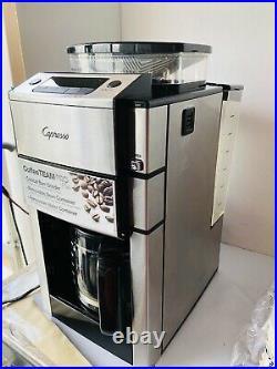 Capresso CoffeeTeam Pro Plus 12-Cup Coffeemaker with Built-in Grinder