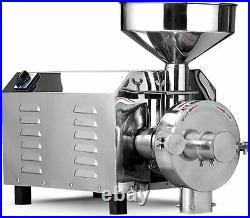 Commercial 110V Electric Grain Grinder Pulverizer Hammer Mill Grinding Machine