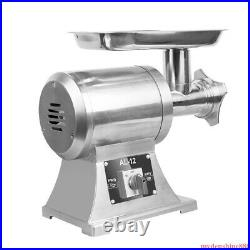 Commercial Electric Meat Grinder Sausage Stuffer Filler Machine Stainless Steel