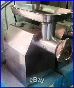 Commercial Meat Grinder SXC-12 Machine Electric Stuffer Equipment Stainles Steel