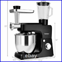 Costway Multifunctional Stand Mixer Blender Meat Grinder Sausage Maker With 7QT