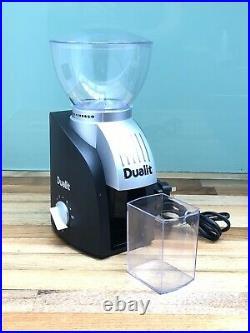 Dualit 3-in-1 Coffee Maker Machine, Chrome, Cappuccino, Espresso Boxed & Grinder