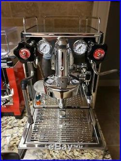 ECM Mechanika V Slim + Eureka Specialita Espresso Grinder (In Red) Plus Extras