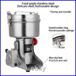 Electric Grain Corn Flour Spices Cereal Dry Food Grinder Mill Grinding Tool New